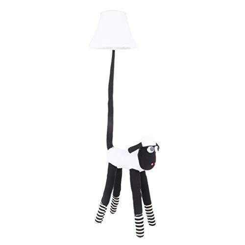 Lamp met schapen, cartoon, voor kinderen in de slaapkamer, led-nachtlampje, verticaal dimbaar, creatief cadeau, schattige vloerlamp (grootte: dimmer switch)