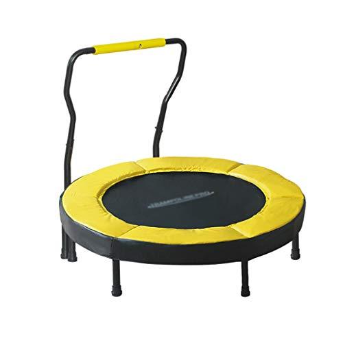 HAYN Mini trampolín con reposabrazos de Espuma para Interiores para el hogar Pequeños Adultos y niños Entrenamiento Ejercicio Fitness Pérdida de Peso MAX Cargar 330 Lbs