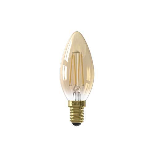 3,5 W LED guld dimbar glödlampa ljus 200 lumen E14/SES 2100K extra varmvit