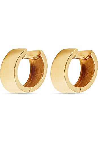 CHRIST Gold Damen-Creolen 585er Gelbgold One Size 87763137