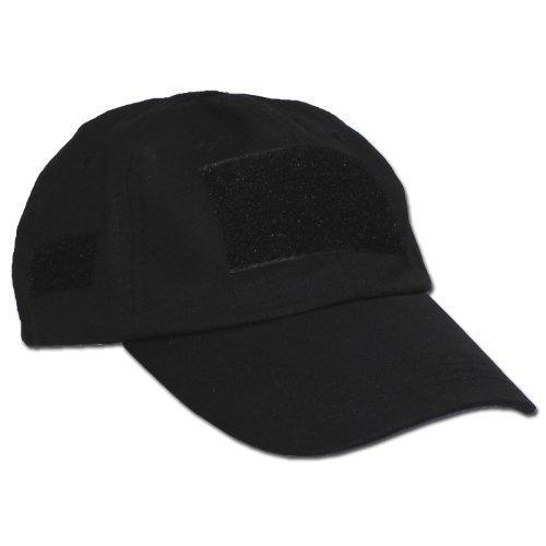 MFH Casquette universelle avec fermeture Velcro Noir