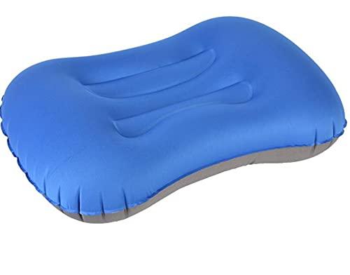 Longsheng Almohada inflable del aire de la almohada del viaje almohada portátil al aire libre para acampar, mochileros y senderismo