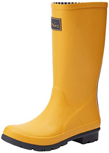 Joules Roll up Welly, Botas de Agua para Mujer, Gold (Antique Gold Anthracitegold), 36 EU