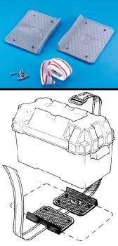 Batteriehalterung Batteriebefestigung Tankhalterung