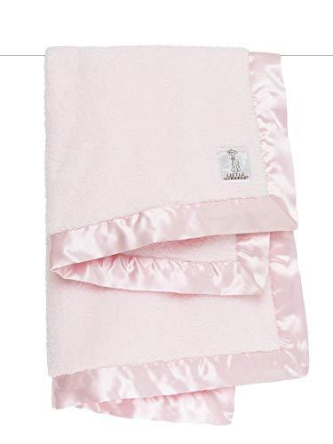 """Little Giraffe Chenille Stroller Baby Blanket, Pink, 29"""" x 35"""""""