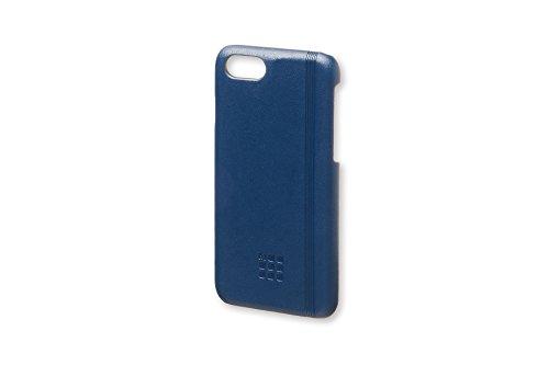 Moleskine Cover Rigida Classic per iPhone 6/6s/7/8, Custodia per Smartphone con Quaderno Volant Journal XS per Appunti, Colore Blu Zaffiro