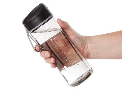 Sistema 6406ZS Hydrate Tritan Swift Bottle, 600 ml - Black