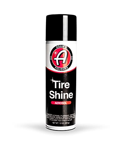 Adam's Aerosol Tire Shine 12oz - Fast,...