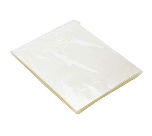 Fundas para Plastificar A4(216x303mm) Láminas para Plastificar 80 micras Brillo Láminas Plastificadoras Presentaciones Claras y Duraderas Ideal para Uso Diario (100 Hojas)