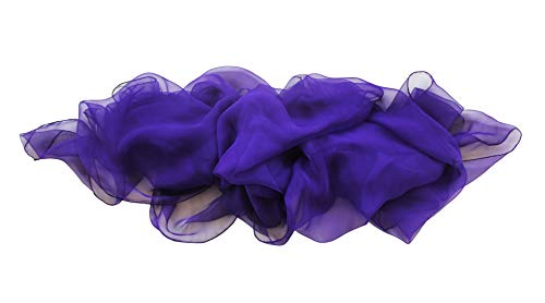 Echarpe violeta. Echarpe, pañuelo, bufanda, foulard de seda natural pintado a mano violeta. Este echarpe forma parte de nuestra colección Arco Iris.