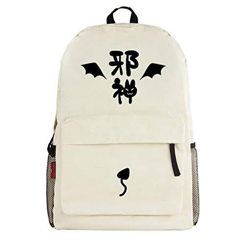 WANHONGYUE Ao no Kanata no Four Rhythm Anime Backpack Mochila Infantil Casual Daypack Bolsa de Viaje Niña Niño