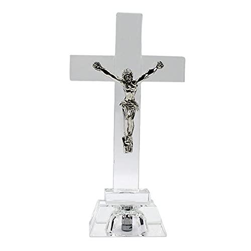 Colcolo Kruzifix Christus Statue Miniatuur Christian Tabletop Decor Collection Geschenken