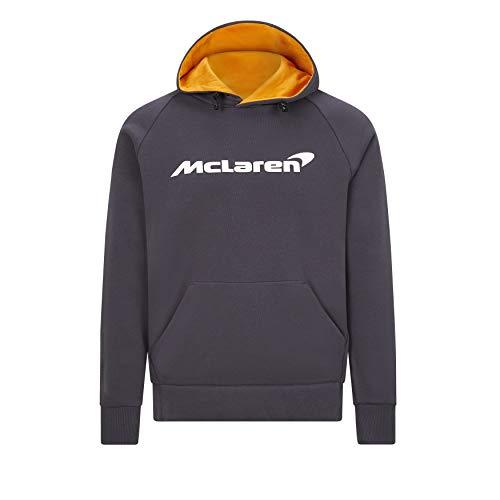 McLaren - Offizielle Formel 1 Merchandise 2021 Kollektion - Herren - Essentials Hoody - Kapuzenpulli - Grau - M