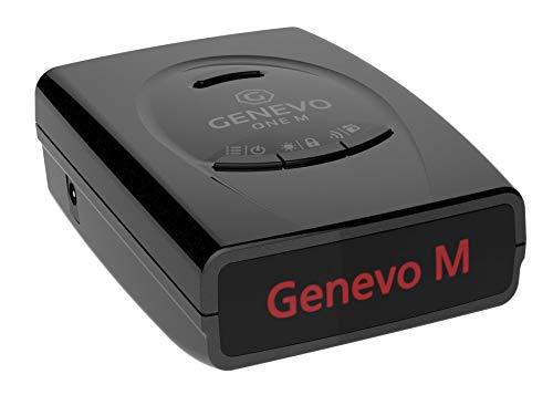 GENEVO™ ONE M Radarwarner / Blitzwarner – Warnt vor Blitzern im Straßenverkehr in Echzeit – GPS Gefahren