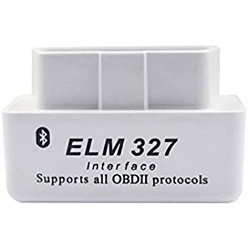 Eadorns Mini ELM327 V2.1 Bluetooth OBD2 OBDII Car Auto Diagnostic Interface Scanner Tool Black