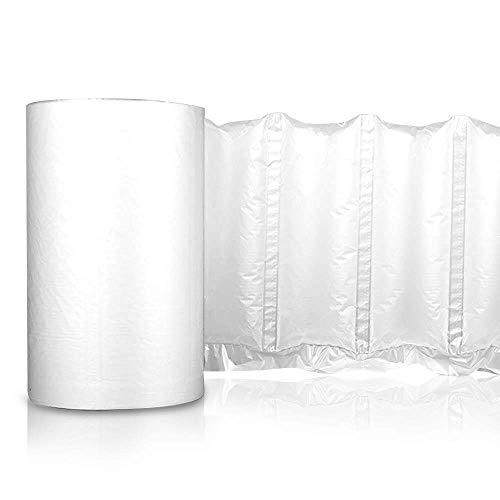Air Cushion Wrap Roll - Inflatable air pillow bags film - Length 985ft (Air Cushion Film - Inflatable Pillows - 7.8″x 5.1″)