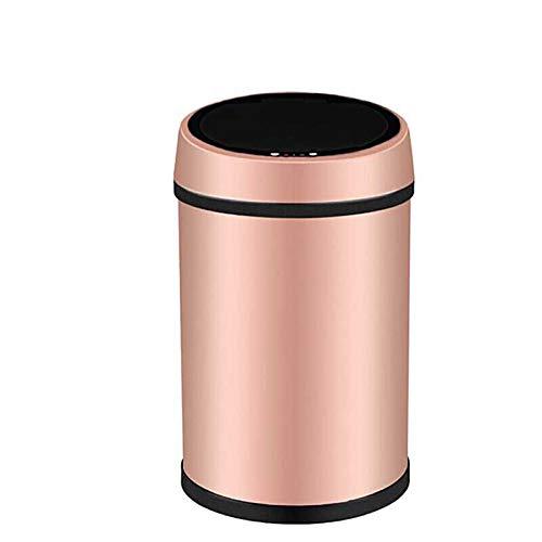 Inductie Trash Can intelligente elektrische afvalemmer, voor woonkamer, badkamer, slaapkamer, mode, voor huishouden, metaal
