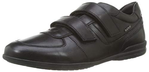 GEOX U TIMOTHY B BLACK Men's Derbys, Oxfords and Monk Shoes Oxfords size 44(EU)