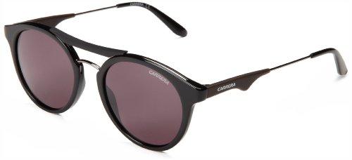Carrera 6008 70 ANS Gafas de sol, Negro (Black Dark Ruthenium/Brown), 50 Unisex-Adulto