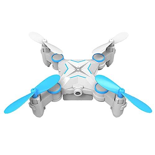 FMHCTN Drone con Fotocamera Drone Pieghevole Mini Aereo telecomandato HD Fotografia Aerea Mini Drone Professionale Resistente alla Caduta Piccolo Modello di Aeroplano Giocattolo,B