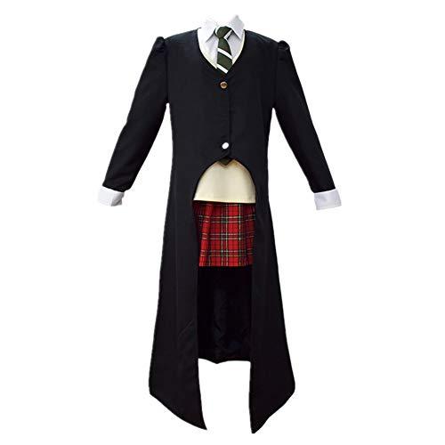 Death Scythe Maka Albarn Cosplay Game Performance Costume Daily Uniform (Female S)