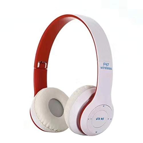 worahroe P47 Inalámbrico Bluetooth 4.2 Auriculares Hombres Mujeres Multifuncional 4.2 Auriculares Auriculares Estéreo Auricular Auricular MP3 / MP4, Azul Blanco