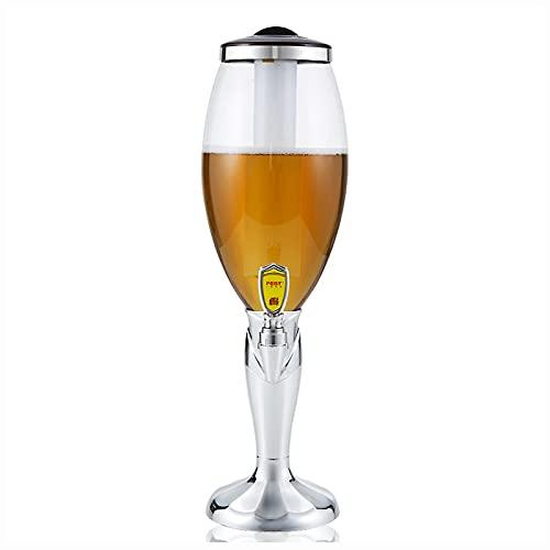 WDDLD Barril Cerveza,Dispensador De Cerveza,3lfuente para Beber,Dispensador De Bebidas,Viene con CaráMbanos, Reuniones Familiares, Accesorios para Fiestas De Barbacoa.