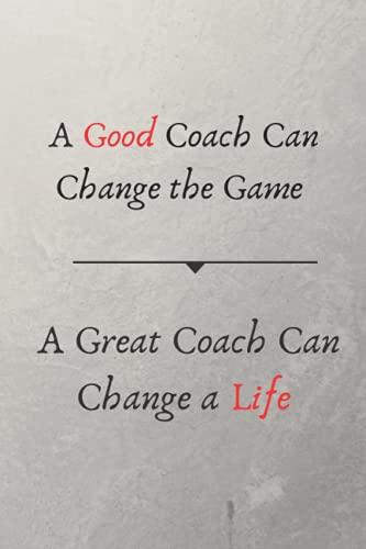 Un buen entrenador puede cambiar el juego Un gran entrenador puede cambiar un...