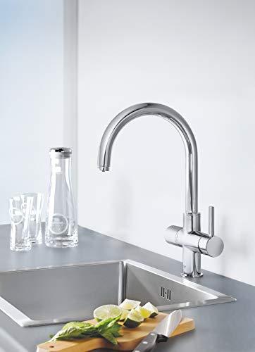 GROHE Blue Pure Küchenarmatur mit Filterfunktion, C-Auslauf 33249001 - 4