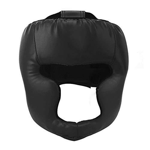 EFINNY Boxing Headgear Sanda Training Helmet Head Protective Gear Mask Guard Protector Headgear for Adult