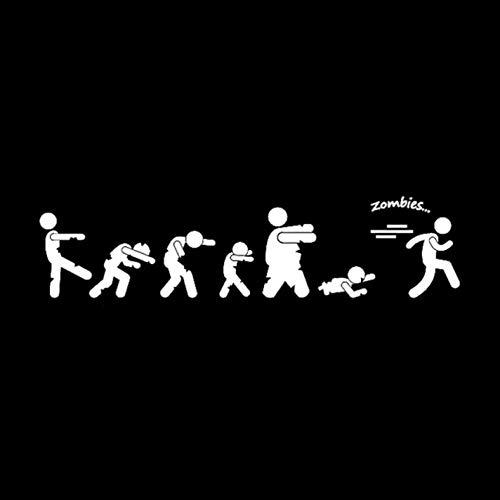 Empty 3 Stück Auto Aufkleber und Abziehbilder 18.9 * 4.5CM Neuheit Walking Wasserdichtes, reflektierendes Abziehbild für Stoßstangenfenster Laptop Motorrad Fahrradgepäck Graffiti Patches
