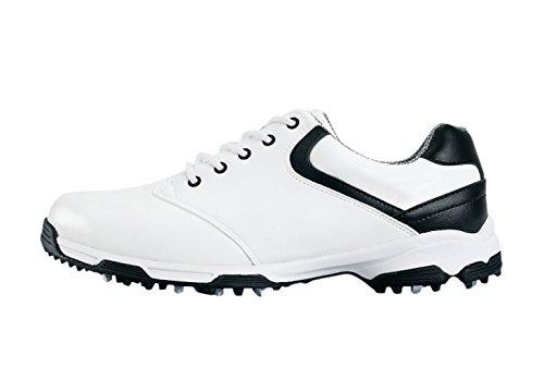 Scarpe da Golf Impermeabile Anti-Scivolo con Picchi per Gli Uomo