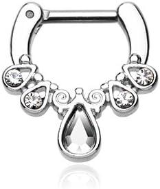 WildKlass Jewelry Septum Clicker 16g 1/4
