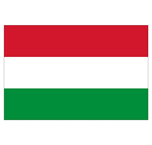 Supstick Sticker Land Vlag Hongarije 18 x 12 cm