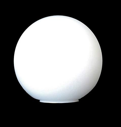 Bola globo cristal blanco mate 140mm diámetro boca 55mm - Accesorios para lámparas