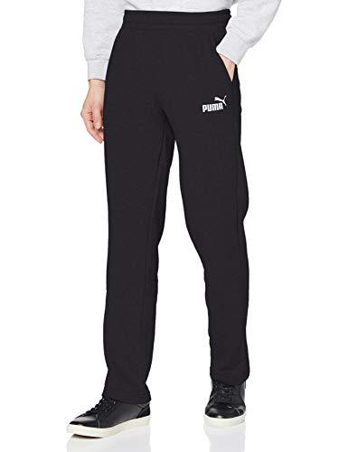 Puma Herren ESS Logo Pants TR op SRL Hose, Black, L