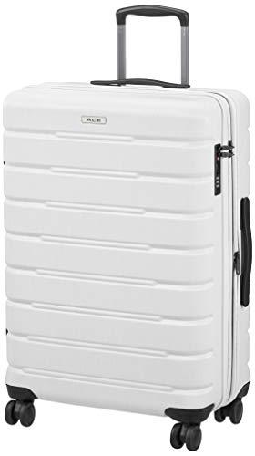 [エース] スーツケース アルビダ エキスパンド機能付 67cm 67 cm 06782 パールホワイト
