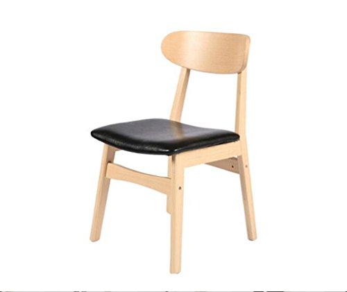 Tabouret en bois Salle à manger chaises chaises en bois massif table à manger simple chaises chaises en bois massif en bois (Couleur : #1)