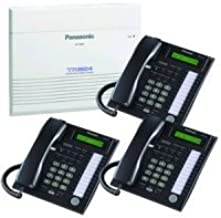 Panasonic KX-TA824 System plus (3) KX-T7731 Black Telephones