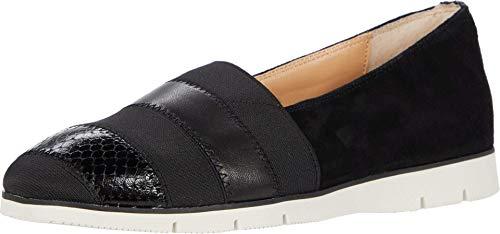 Donald J Pliner Women's Loafer Flat, Black, 8.5