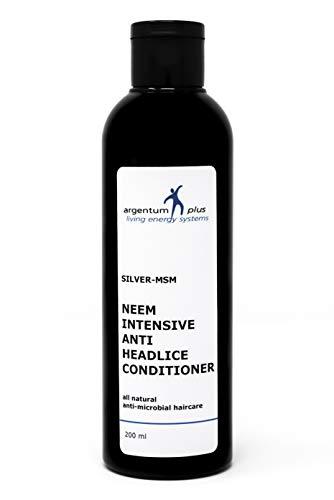 Silber-MSM Neem Intensiver Anti-Kopflaus Conditioner - 200 ml