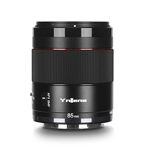 YONGNUO YN85mm F1.8R DF DSM Obiettivo AF/MF Fotogramma intero compatibile con montatura RF per Canon