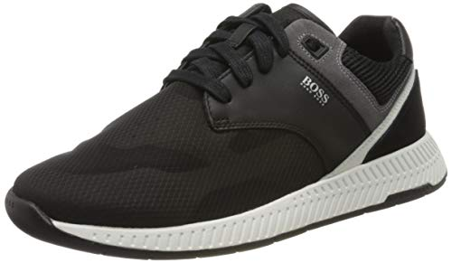 BOSS Herren Titanium_Runn_trmx 10214595 01 Sneaker, Schwarz (Black 001), 43 EU