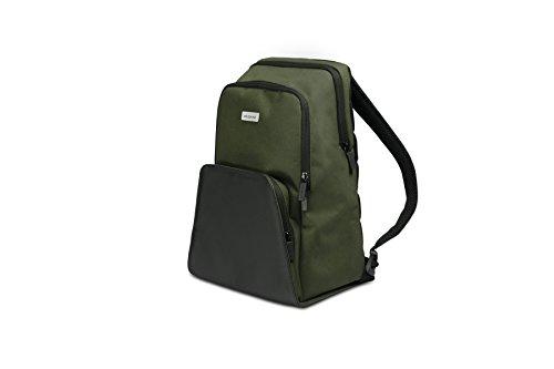 Moleskine Zaino Porta PC Device Backpack per Tablet, Laptop, iPad e Computer Fino a 13'', Dimensione 29 X 17 X 41 Cm, Colore Verde Foresta