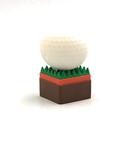 Onlineworld2013 Golfball Ball auf Rasen Sport Mannschaft Funny USB Stick 16 GB USB 3.0