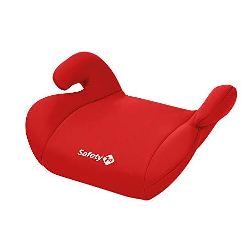 Safety 1st Manga Safe Elevador, Silla de coche grupo 3, Alzador para niños 3-12 años (15-36 kg), color Red