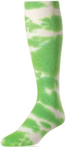 Authentic Sports Shop TIE DYE Sock Lime Green SM