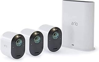 Arlo Ultra, Sistema di Videosorveglianza WiFi con 3 Telecamere 4K, Faro e Sirena integrati, Audio 2 Vie, Visione 180° Diurna/Notturna, Interno/Esterno, Compatibile con Alexa/Google Wi-Fi, VMS5340 (B07K4DTXN2) | Amazon price tracker / tracking, Amazon price history charts, Amazon price watches, Amazon price drop alerts