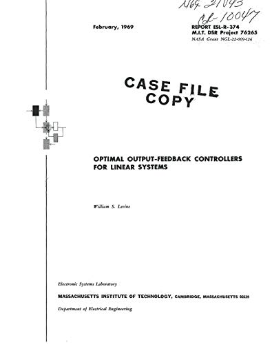Optimal output-feedback controllers for linear systems (English Edition)