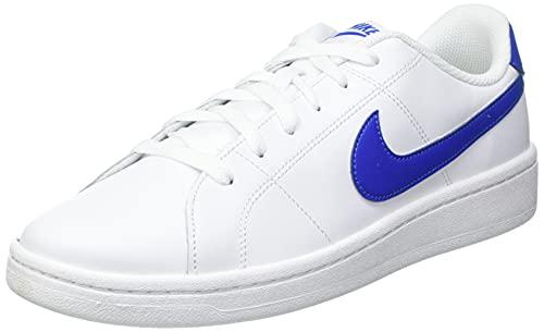 Nike Court 2, Scarpe da Ginnastica Uomo, White/Game Royal, 47 EU